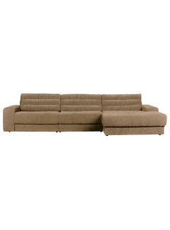 BePureHome Date Chaise Longue Rechts Vintage Zand