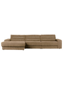BePureHome Date Chaise Longue Links Vintage Zand