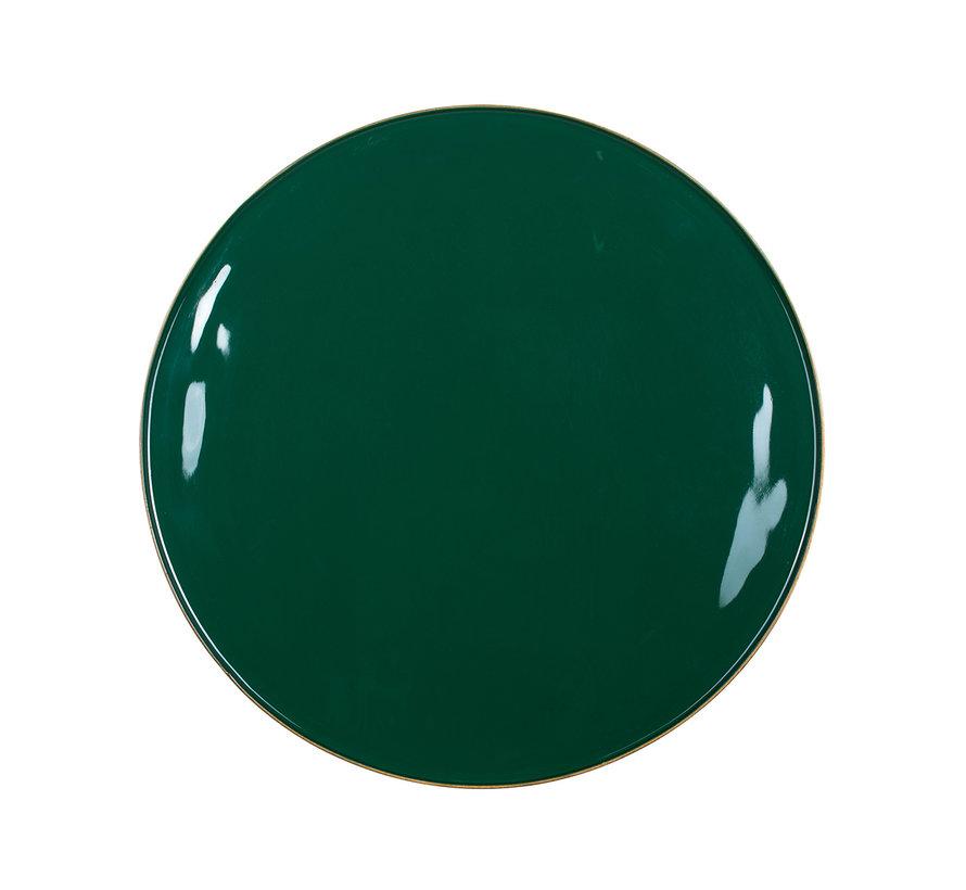Bijzettafel Candy groen 36Ø  (Groen)