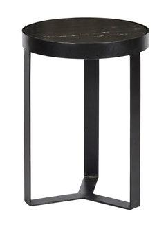 Livingfurn ST - Glennis Marble Black Black 40 cm