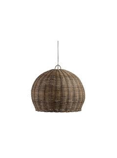WOOOD Mooze Hanglamp Rotan Naturel Ø80cm