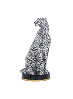 Richmond Interiors Cheetah deco object (White)