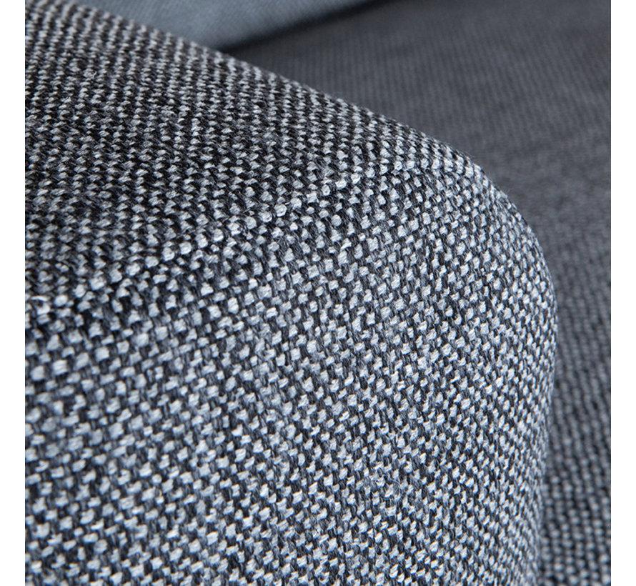 Bank Fano - Antraciet - Texture - 2-zits
