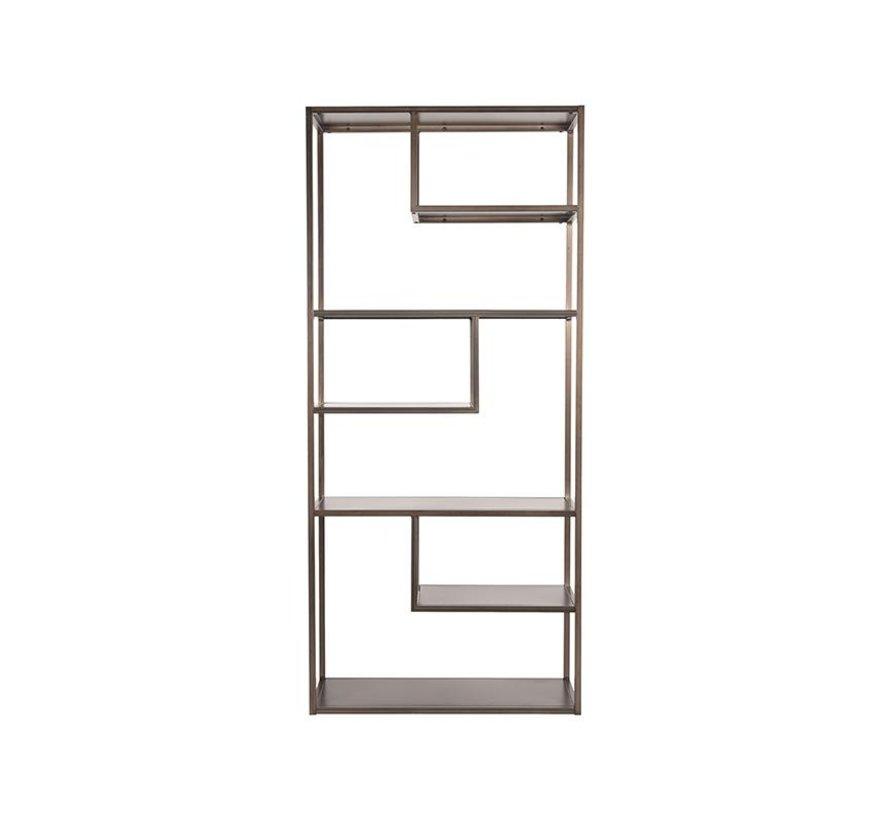 Boekkast Loft - Vintage Metaal - Metaal
