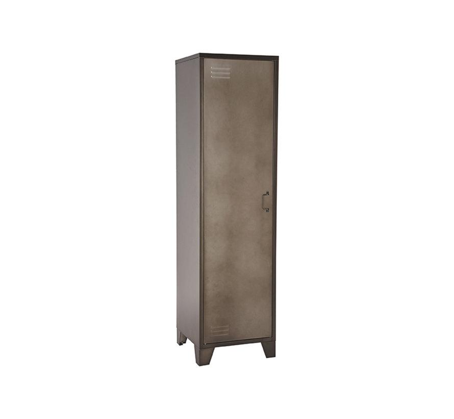 Bergkast Fence - Vintage Metaal - Metaal - 1 Deurs