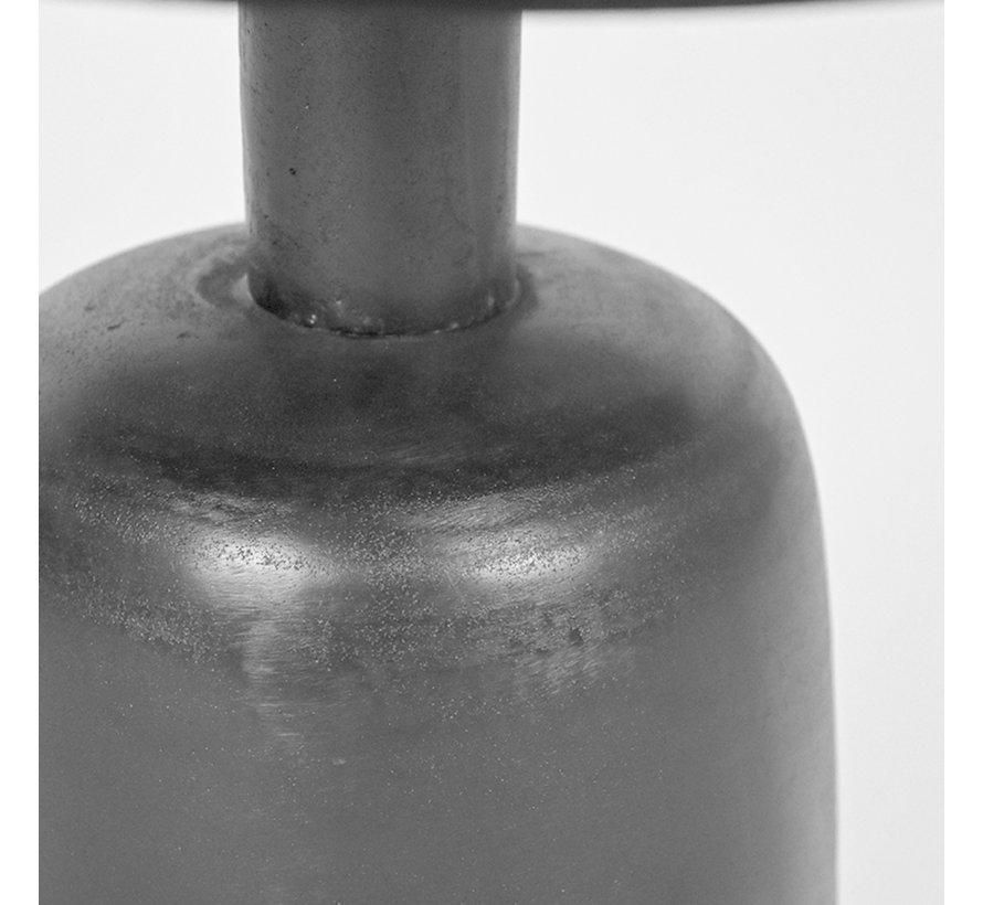 Bijzettafel Wink - Zwart - Metaal