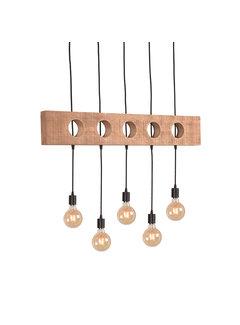 LABEL51 Hanglamp Timber - Rough - Mangohout