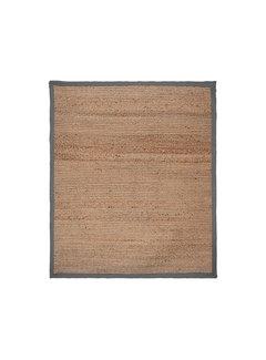 LABEL51 Vloerkleed Jute - Grijs - Jute - 160x230 Cm