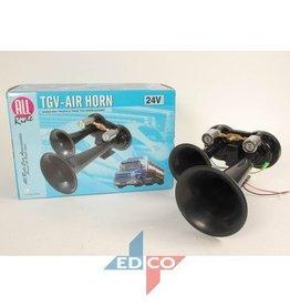TGV -air horn zwart