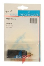 Procar adapter Klein Groot 12-24V 16A