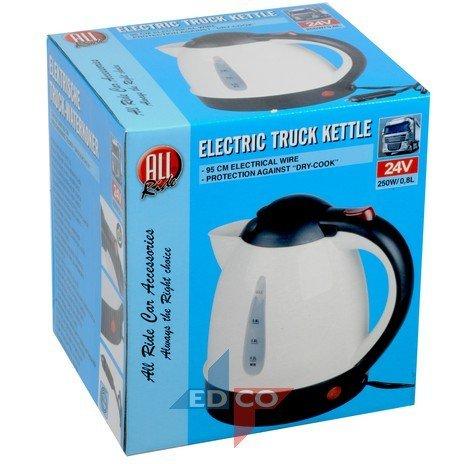 Kettle 24V white 0,8 liter
