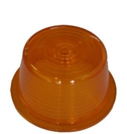 Lens for Swedish width lamp orange