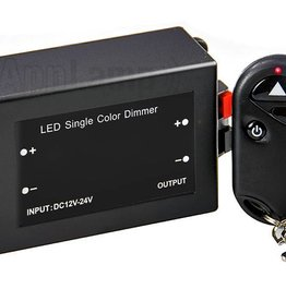 LED dimmer with remote control