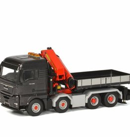 MAN TGX XLX 8x4 Palfinger Crane