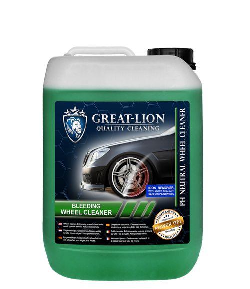 Great Lion Großer Lion Bleeding Wheel Cleaner 5 Liter