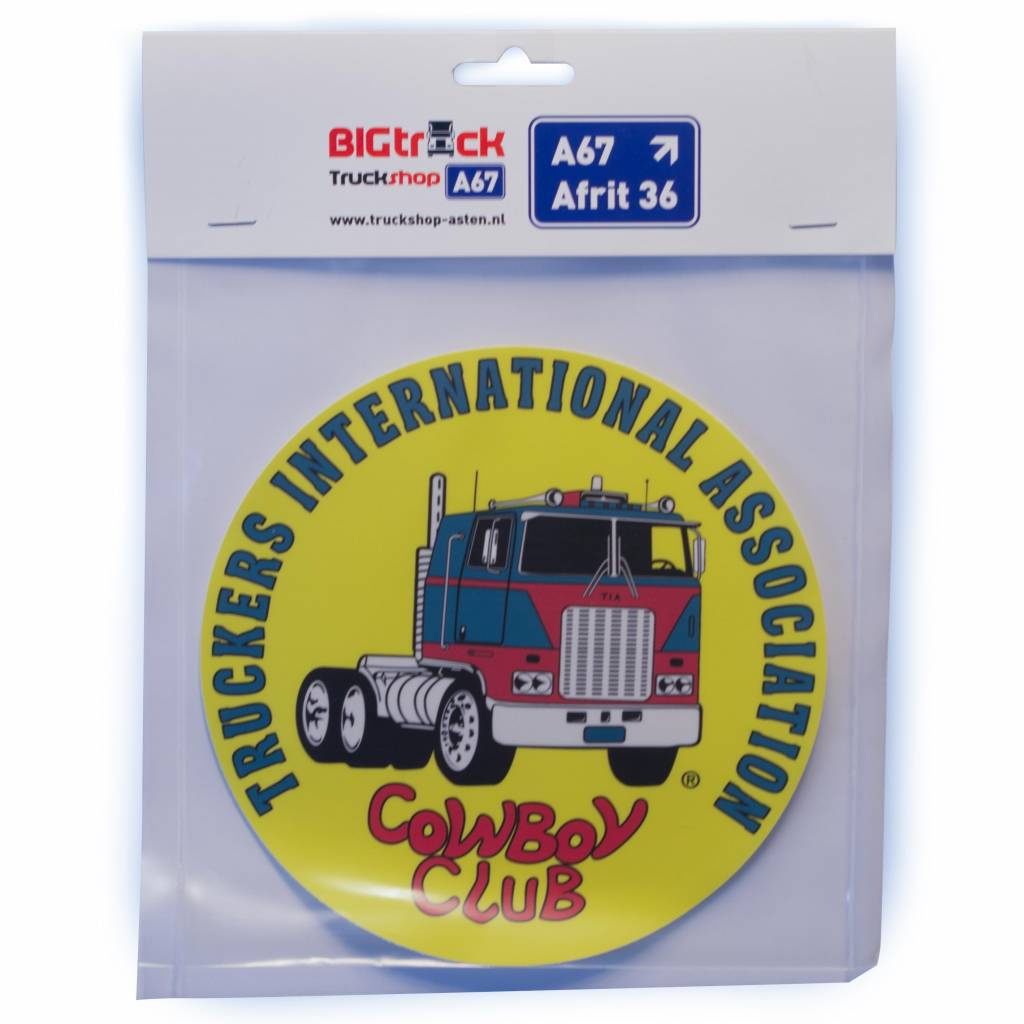 TIA | Truckers International Association Truckers International Association Aufkleber 17cm