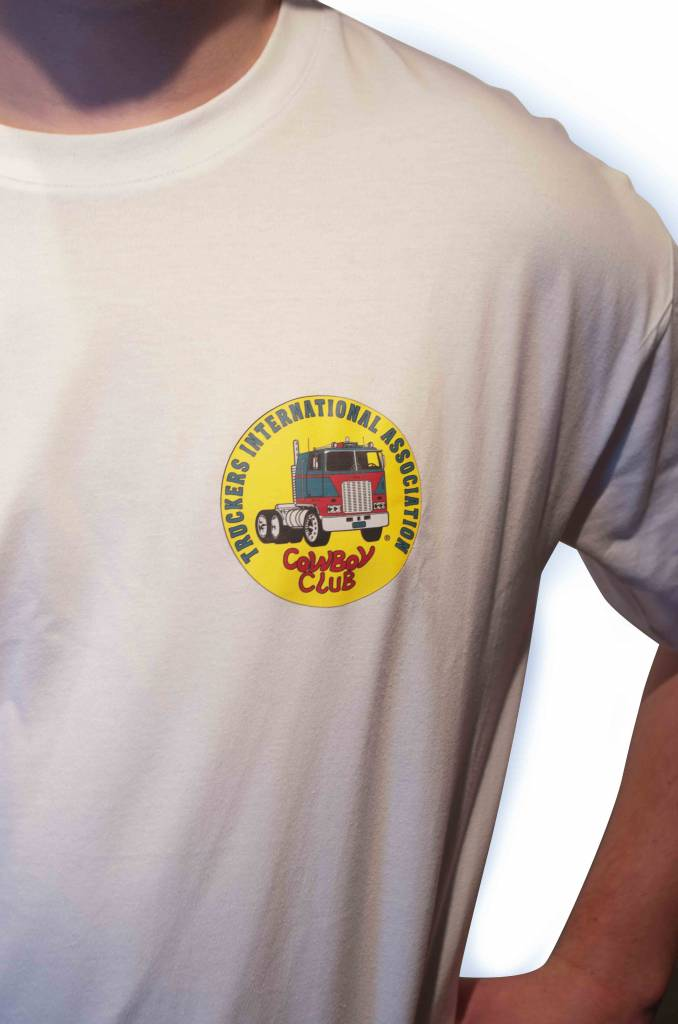 TIA | Truckers International Association Truckers International Association T-Shirt weiß