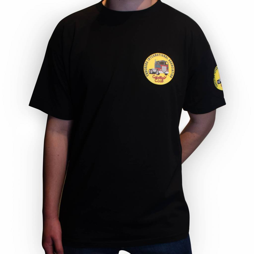 TIA | Truckers International Association Truckers International Association T-Shirt schwarz