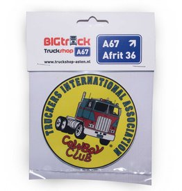TIA | Truckers International Association TIA Aufkleber 10 cm