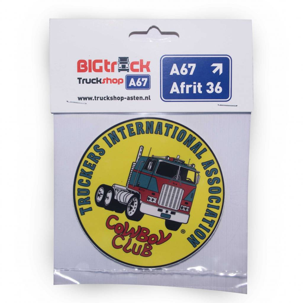 TIA | Truckers International Association Truckers international association sticker 10cm