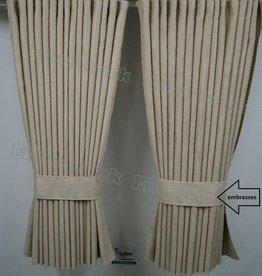 Zijgordijnen Alacantara 98 cm
