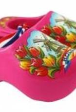 Klomp 8 cm roze