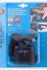 All Ride All ride tweevoudige verdeelstekker met USB oplaad poort