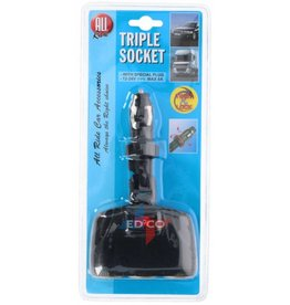 Triple socket
