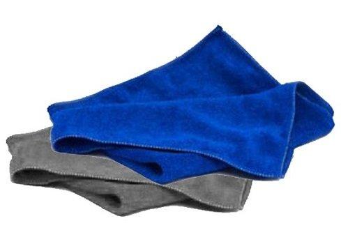 Great Lion Mikrofasertuch grau / blau