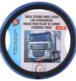Steering cover Black / blue