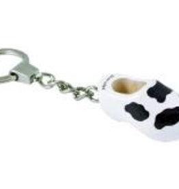 Keyring clog (cow)