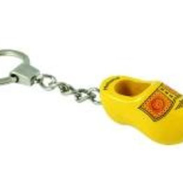 Key ring clog yellow (farmer)