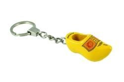 Sleutelhanger klomp geel