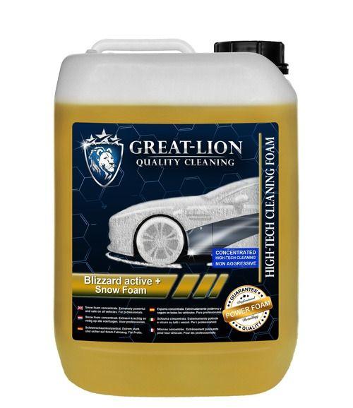 Great Lion Großer Lion Blizzard Active + Schneeschaum 5 Liter