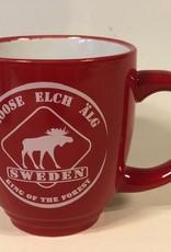 Mug Eland Sweden red