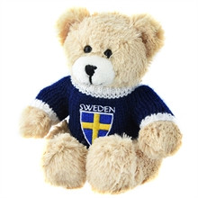 Bear plush Sweden
