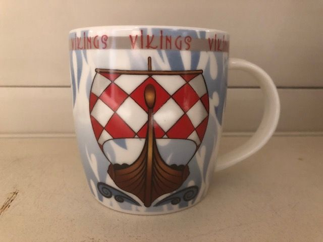 Mug Denmark Viking ship