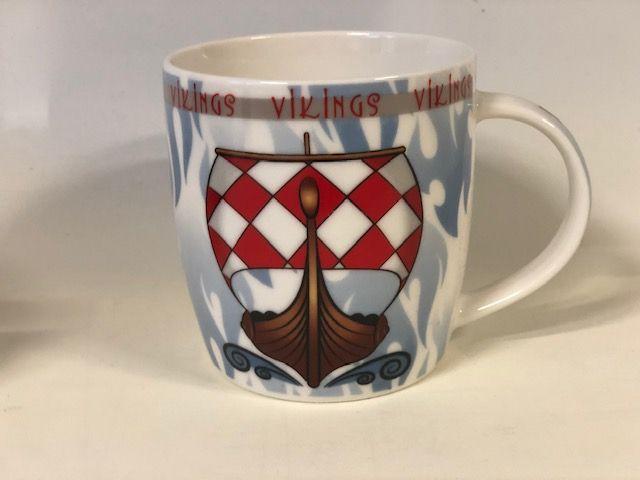 Becher Dänemark-Wikinger-Schiff
