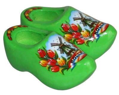 Magneetklompjes met tulpen en molen