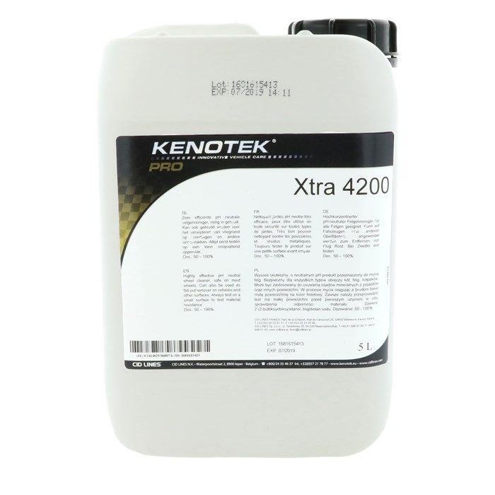 Kenotek Kenotek Wheel Cleaner Ultra X-Tra 4200 (5 Liter)
