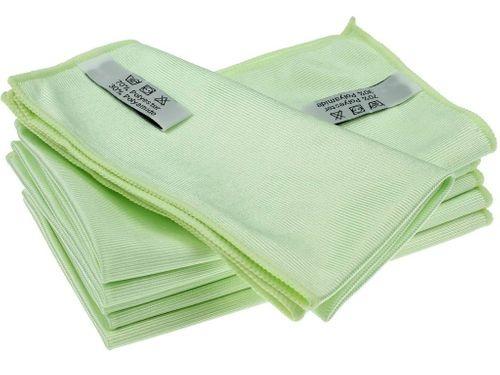 Glastuch grün 55x60