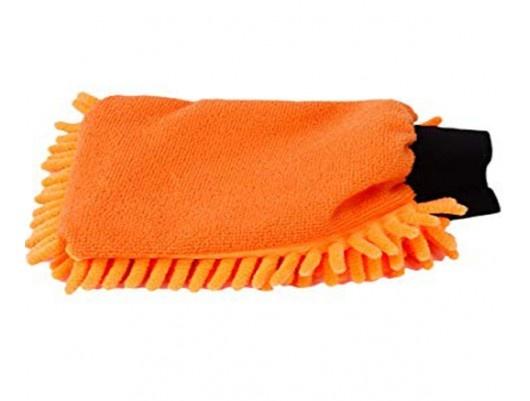 Kenotek Kenotek washandschoen rasta oranje