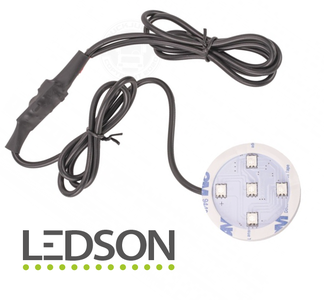 Ledson - POPPY LED - Red with direct connection -10-40V