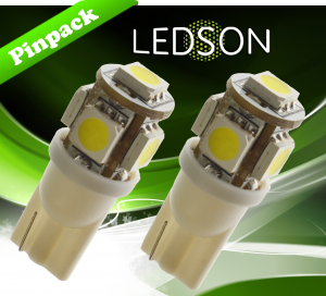 5 SMD wit xenonwit LED licht