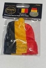 Mohn Mütze Belgien