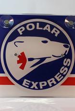 Polar Express Rood/Blauw - Lichtbakje Deluxe