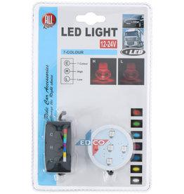 Led Licht Mohn 5 LED Farben