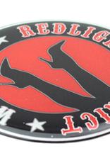 Rotlichtviertel - 3D Deluxe Full Print Aufkleber