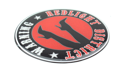 Red Light District - 3D Deluxe Full Print Sticker
