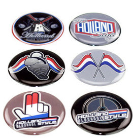 Holland Style - 3D Deluxe Full Print Sticker Set of 6
